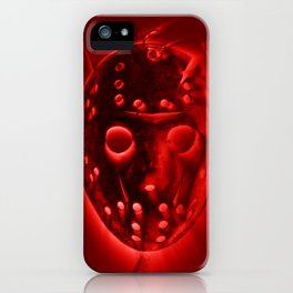 Jason - Red iPhone Case
