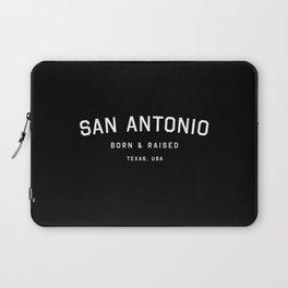San Antonio - TX, USA (Arc) Laptop Sleeve