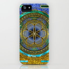 Yantra Mantra Mandala #1 iPhone Case