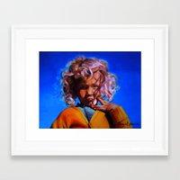 swedish Framed Art Prints featuring Swedish by Raquel García Maciá