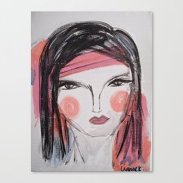 Zumba Maedchen Canvas Print