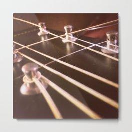 New Strings Metal Print