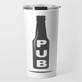 Pub Beer Brewery Handcrafted style Fashion Modern Design Print! Travel Mug