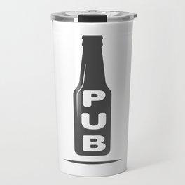 Pub Beer Brewery Handcrafted style Fashion Modern Design Print! Travel Mug
