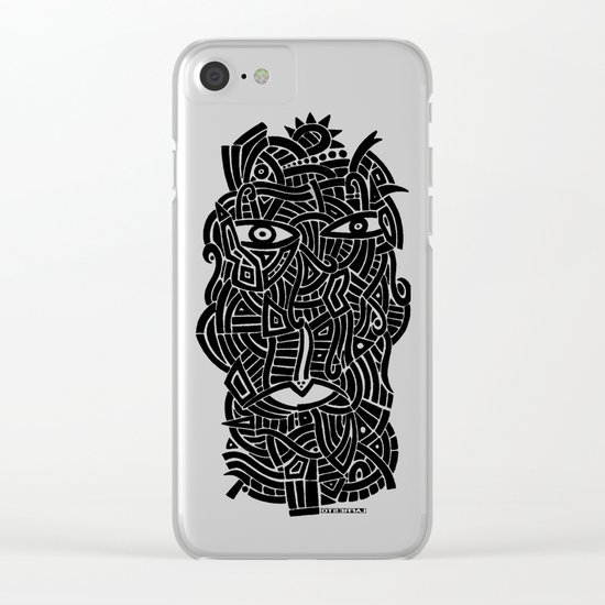 - my uncle - Clear iPhone Case