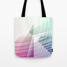 Square Abstract Tote Bag
