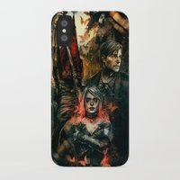 silent hill iPhone & iPod Cases featuring Silent Hill 2 - Atonement  by Tatiana Anor