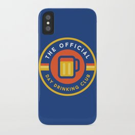 Day Drinking Club iPhone Case