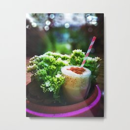 Love my iced coffee! Metal Print