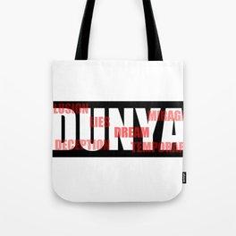 DUNYA Tote Bag