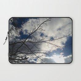Winter Clouds Laptop Sleeve