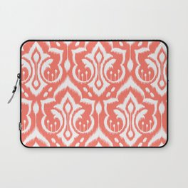 Ikat Damask Coral Laptop Sleeve