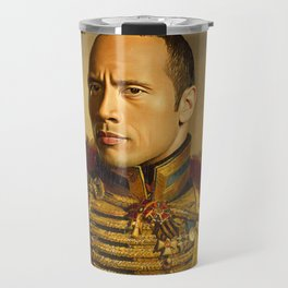 Dwayne (The Rock) Johnson - replaceface Travel Mug