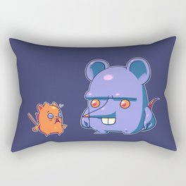 Mus Maximus Rectangular Pillow