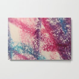Raspberry Metal Print