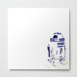 No one puts R2D2 in the corner... Metal Print