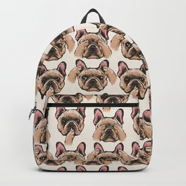 No Evil  Frenchie Backpack