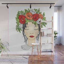 Flowers Queen - Poppies Wall Mural