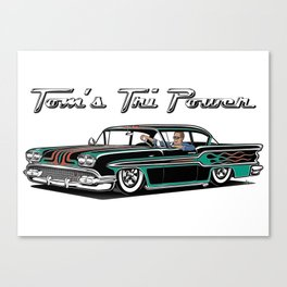 Tom's Tri-Power Canvas Print