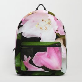Pink Rhododendron in Spring Backpack