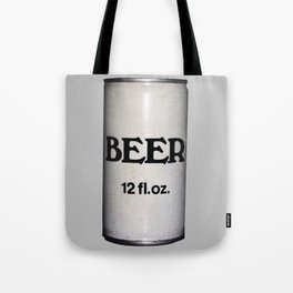BEER ON GREY Tote Bag