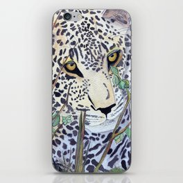 Never Resting - Leopard by Maureen Donovan iPhone Skin