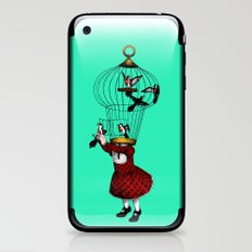 the cage iPhone & iPod Skin