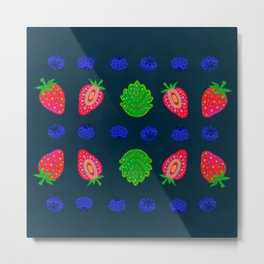 Strawberry magic 2 Metal Print