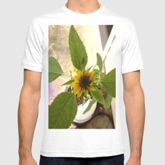 Flower Spider MEDIUM Mens Fitted Tee White