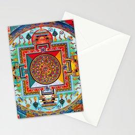 Buddhist Medicine Mandala 2 Stationery Cards