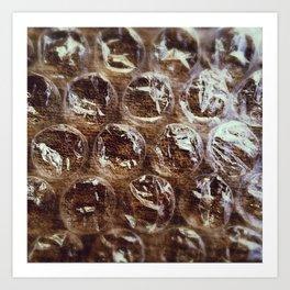 Bubblewrap Art Print