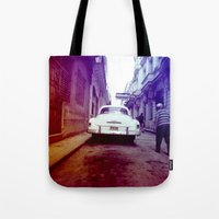 cuba Tote Bags featuring Cuba 2 by very giorgious