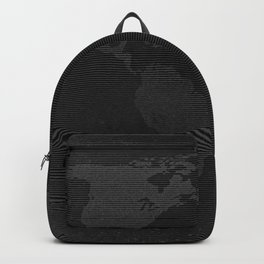 Retro world map Backpack