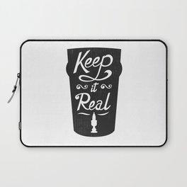 Keep It Real Laptop Sleeve
