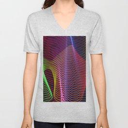 lines and patterns 4 Unisex V-Neck