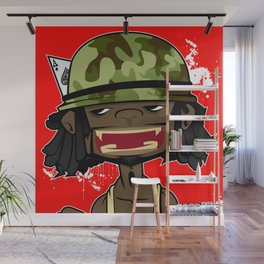 illsurge : Kamaflage Piece Wall Mural