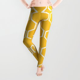 BEAUTY OF NATURE (bee , bees , yellow) Leggings