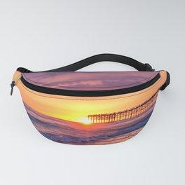 Sunset & Foamy Wave Fanny Pack