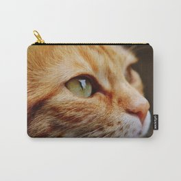 cat face 4 Carry-All Pouch