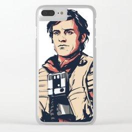 Poe Dameron Clear iPhone Case
