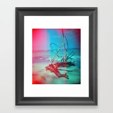 Weathered Lore Framed Art Print
