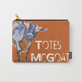 """Totes McGoats!"" ~ Nigerian Dwarf Goat Pop Art Photography!  Gotta Love the Goaty-Woaties! Carry-All Pouch"