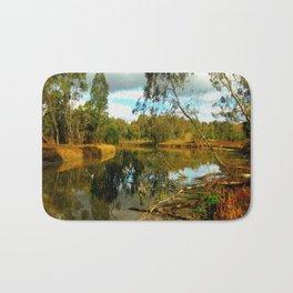 Dusk over a Swamp Bath Mat