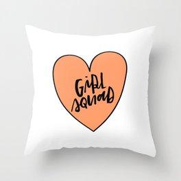 Girl Squad Throw Pillow