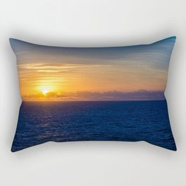 Sunset over the Timor Sea Rectangular Pillow