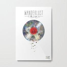 Wanderlust recordings Metal Print