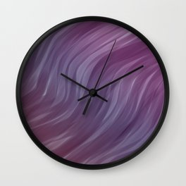 Abstract painting color texture 3 Wall Clock