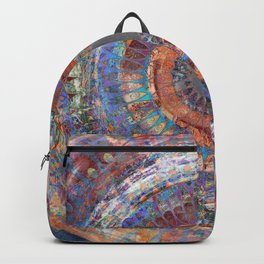 LA TURBINA MANDALA ART Backpack