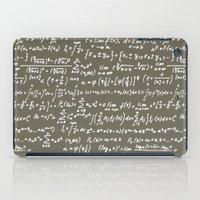 math iPad Cases featuring Math by beach please