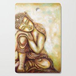 """Daydreaming Buddha- Healing Art"" Cutting Board"